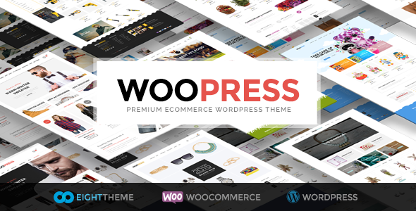 WooPress 6.1 (Nulled) - Responsive Ecommerce WordPress Theme