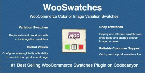 WooSwatches 3.0.7 - Woocommerce Color or Image Variation Swatches