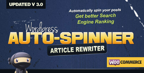 Wordpress Auto Spinner 3.7.4 - Articles Rewriter Plugin