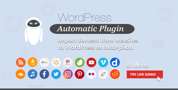 WordPress Automatic Plugin 3.50.6 Nulled
