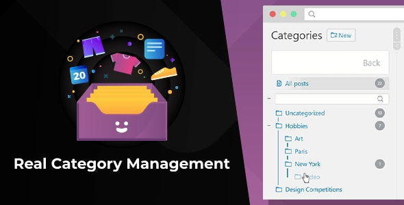 WordPress Real Category Management 3.2.18 Nulled