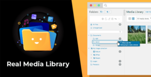 WordPress Real Media Library 4.9.5 Nulled - Folder & File Manager Plugin