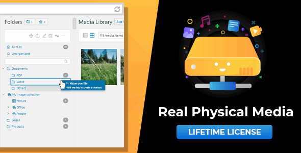WordPress Real Physical Media 1.2.4 Nulled