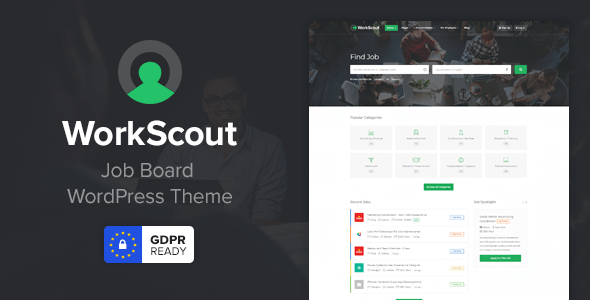 WorkScout 2.0.11 - Job Board WordPress Theme