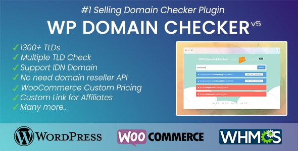 WP Domain Checker 5.0.4 - Domain Checker Plugin