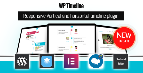 WP Timeline 3.5.2 - Vertical and Horizontal timeline plugin