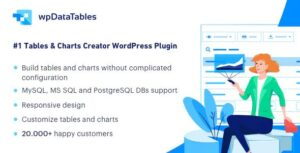 wpDataTables 3.0.4 (+Addons) - Tables and Charts Manager for WordPress