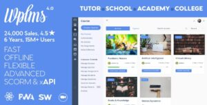 WPLMS 4.080 - Learning Management System for WordPress Theme