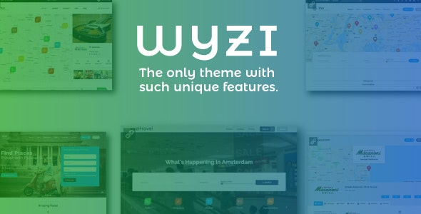 Wyzi (Nulled) 2.3.1 - Social Business Finder WordPress Theme