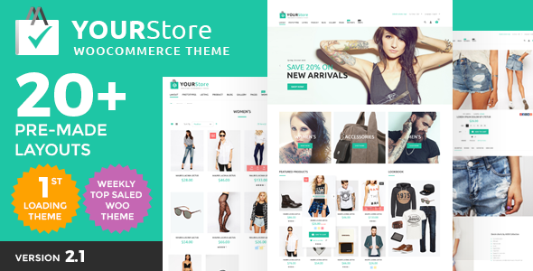YourStore 2.6 Nulled - Woocommerce Theme