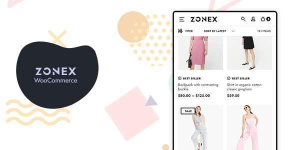 Zonex 1.0.9 - Fashion WooCommerce WordPress Theme