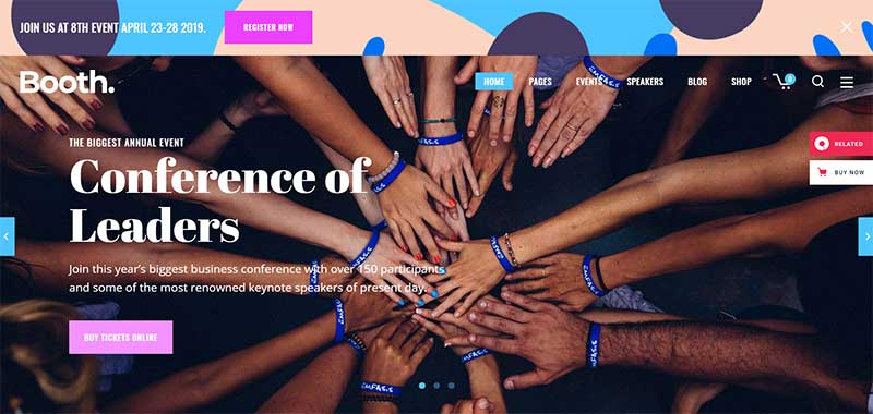 Booth-Event-and-Conference-Theme-Nulled