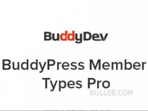 BuddyPress-Member-Types-Pro-Nulled-Download