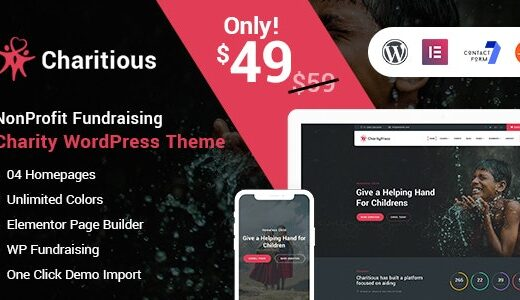 Charitious-Nulled-NonProfit-Fundraising-Charity-WordPress-Theme-Nulled-download