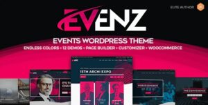 Evenz - Conference and Event WordPress Theme