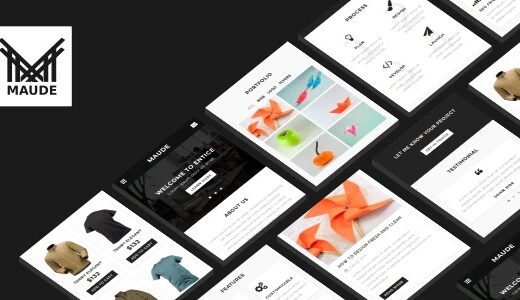 Maude-Nulled-Mobile-Template-Download-GPL
