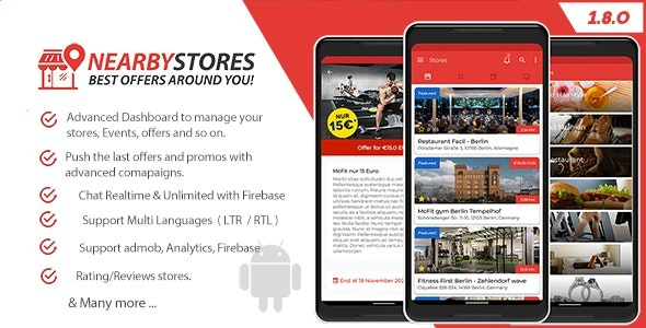 NearbyStores-Android-Nulled-Download