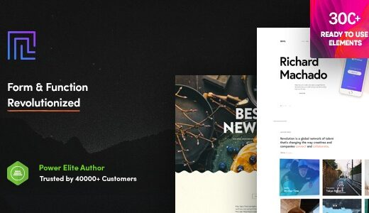 Revolution-Nulled-Creative-Multipurpose-WordPress-Theme-Download