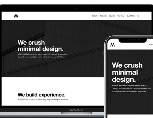 StudioPress-Monochrome-Pro-Nulled-WordPress-Theme-Download-GPL