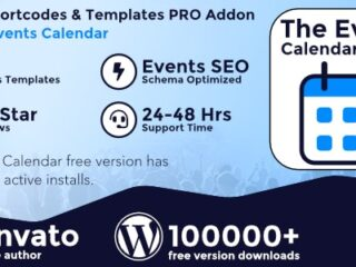 The-Events-Calendar-Shortcode-and-Templates-Pro-Nulled-Download-GPL