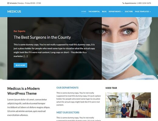 WPZoom-Medicus-WordPress-Theme-Nulled-Download