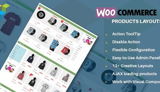 Woocommerce-Products-Layouts-Nulled-Download