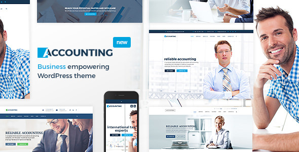 Accounting 3.6.1 - Business, Consulting and Finance WordPress Theme