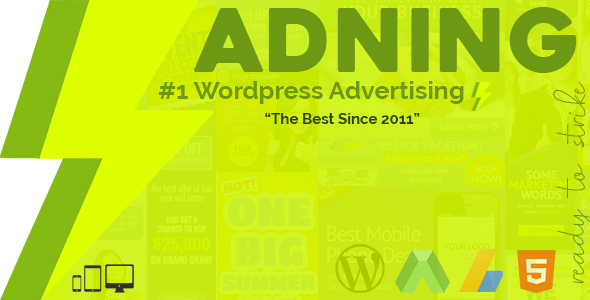 Adning Advertising 1.3.4 - All In One Ad Manager for WordPress