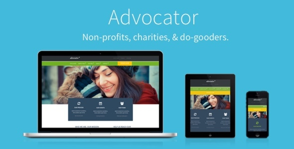 Advocator Responsive WordPress Theme