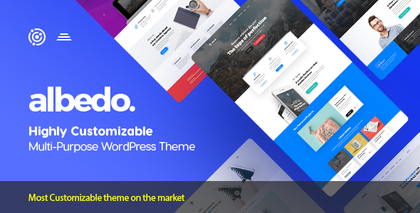 Albedo Multi Purpose WordPress Theme