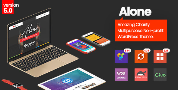 Alone 5.3 - Charity Multipurpose Non-profit WordPress Theme