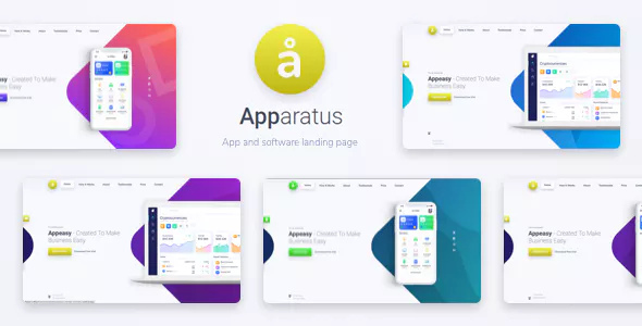 Apparatus 1.0.2 - A Multi-Purpose One-Page Landing Theme
