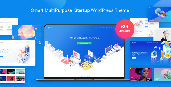 Atomlab 1.3.5 - Multi-Purpose Startup WordPress Theme