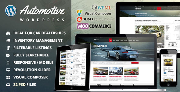 Automotive 9.7 - Car Dealership Business WordPress Theme