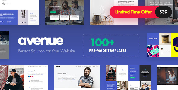 Avenue 1.2.1 - Creative Multi-Purpose WordPress Theme