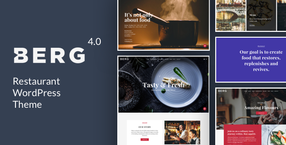Berg 4.2 - Restaurant WordPress Theme