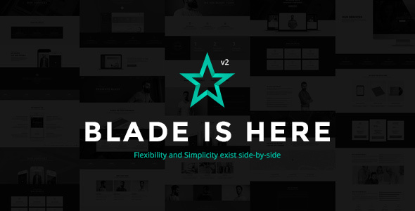 Blade 2.8.6 - Responsive Multi-Functional WordPress Theme
