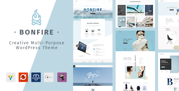 Bonfire 1.4 - Creative Multipurpose WordPress Theme