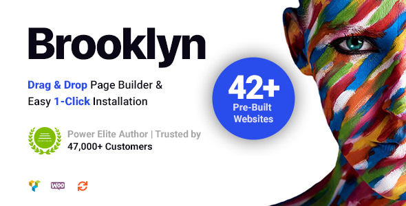 Brooklyn 4.9.1.2 - Creative Multipurpose Responsive WordPress Theme