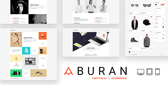 Buran 2.0.1 - Creative Portfolio and Business WordPress Theme