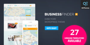 Business Finder 2.52 - Directory Listing WordPress Theme