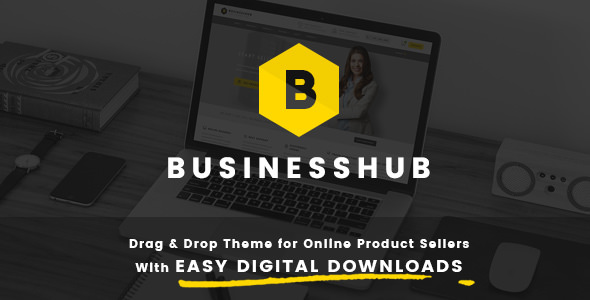 Business Hub 1.1.3 - Responsive Theme For Online Business