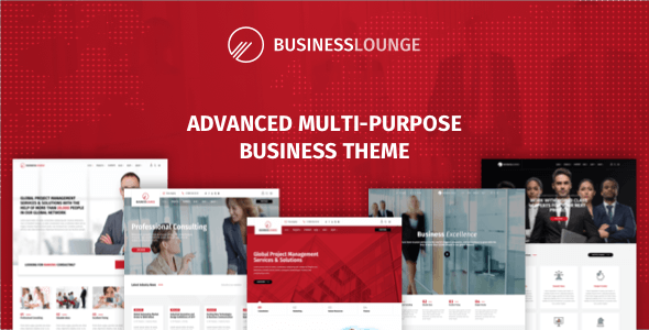 Business Lounge 1.6.1 - Multi-Purpose Business Theme