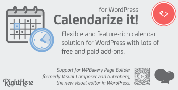 Calendarize it WordPress Plugin