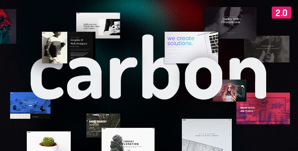 Carbon 2.4.2 - Clean Minimal Multipurpose WordPress Theme