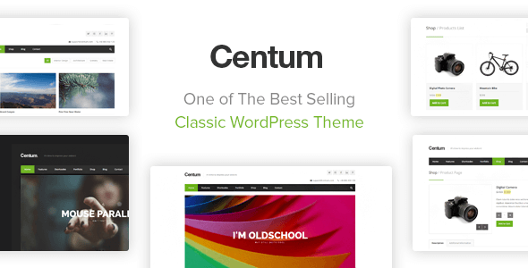 Centum 3.3.8 - Responsive WordPress Theme