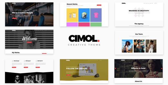 Cimol 1.2.3 - Responsive One Page WordPress Theme