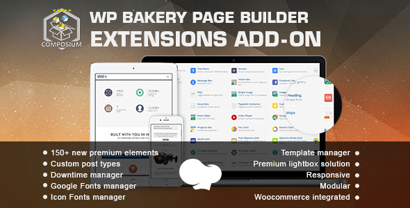 Composium 5.4.0 - WP Bakery Page Builder Extensions Addon