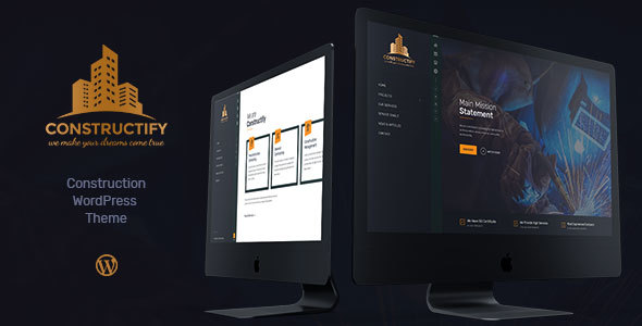Constructify 1.0.6 - Construction & Building WordPress Theme