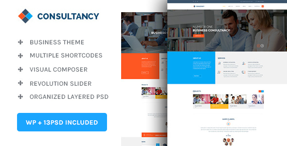 Consultancy Consultancy & Business WordPress Theme